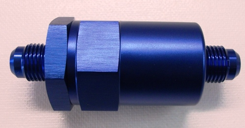 BILLET ALUMINIUM FUEL FILTER