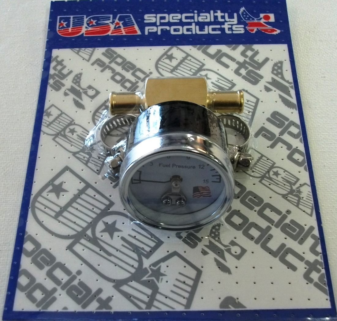 FUEL PRESSURE GAUGE & FITTING KIT
