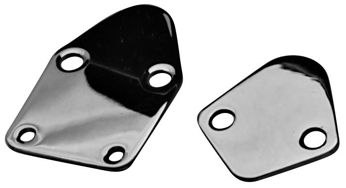 FORD 289-302 & B/B CHEV FUEL PUMP BLOCK OFF PLATE