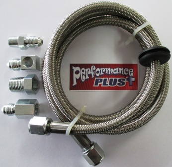 STAINLESS BRAIDED GAUGE HOSE